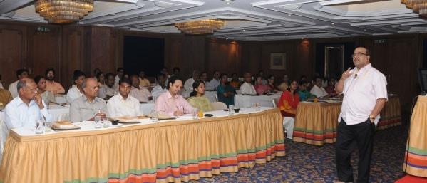 Dr Joshi addressing the partiicipants