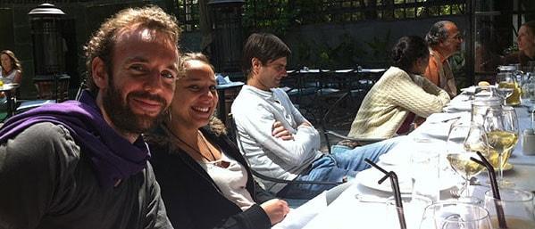 With Gabrielji, Danielji & others