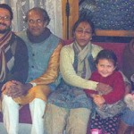 With Ricardoji, Premaji, Sambhaviji & Family