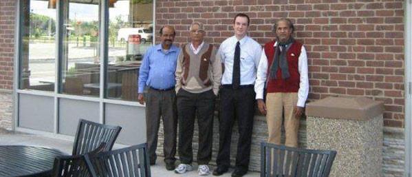 With Bharathyji, Kannanji &Mr John