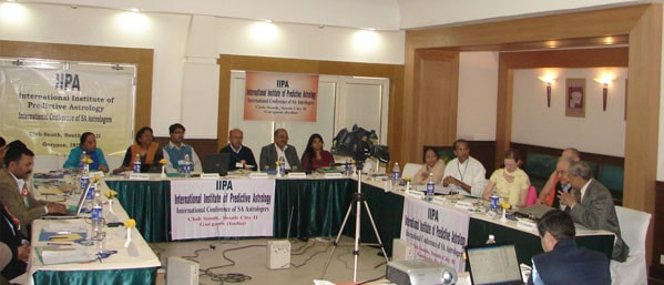 IIPA Conf in Session; the delegates in attendance