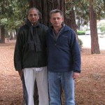 Sankara & Pete in San Jose, CA, 2012
