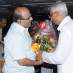 Kannanji welcoming Dr Joshi