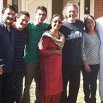 Ricardoji, Sankaraji, Premaji with Gabrielji & the members of Bestodioji's family