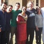 Ricardoji, Sankaraji, Premaji with Gabrielji & the members of Bestodioji's family