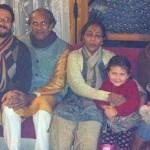 With Ricardoji, Premaji, Sambhaviji & Family