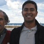 With Lakshmiji in Rochester