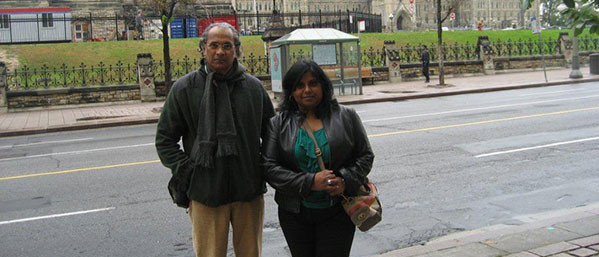 With Vasugiji in Ottawa