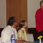At IIPA Conf, Dr J Miller speaking